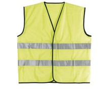 Safety vests with reflective stripes (uni adult size)