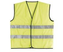 Veiligheidshesjes met reflecterende strepen (uni volwassen maat)