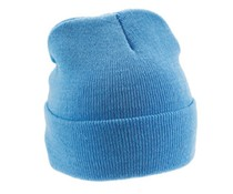 Trendy knitted hats available in 12 different colors