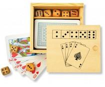 Karten-und Würfelspiel