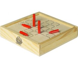 Wooden travel game Solitaire