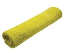 Fitness handdoeken in de kleur geel