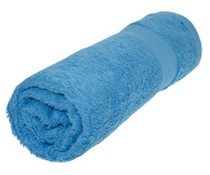 Towels in the color light blue / baby blue (50 x 100 cm)