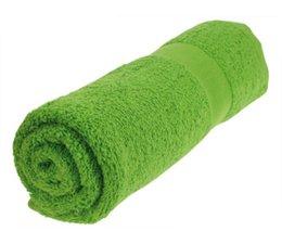 Handdoeken in de kleur lichtgroen/grasgroen (50 x 100 cm) kopen?