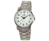 Klassiek heren horloge met roestvrijstalen horlogeband