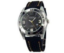 Classic Men's Watch with PU rubber strap