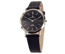 Klassiek dames horloge met lederen horlogebandje