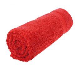 Mooie handdoeken in de kleur rood/felrood (50 x 100 cm) kopen?