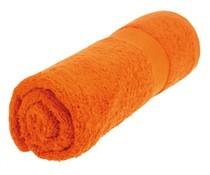 Badhanddoeken in de kleur oranje (50 x 100 cm)