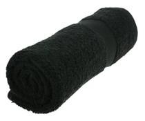 Handdoeken in de kleur zwart (50 x 100 cm)