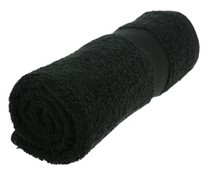 Towels in black (50 x 100 cm)