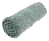 Handtücher in der Mitte grau (50 x 100 cm)