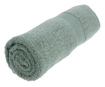 Towels in the middle gray color (50 x 100 cm)