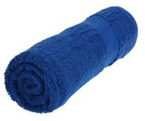 Towels in the color cobalt blue (50 x 100 cm)