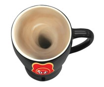 The Stir-it Cup, the self-movable coffee mug!