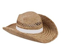 Beautiful Straw hats available in the color white