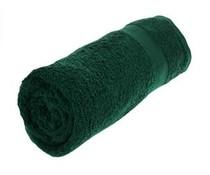 Nizza Qualität Handtücher in der Farbe dunkelgrün (Größe 70 x 140 cm)