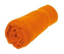 Mooie kwaliteit baddoeken (70x140cm) in de kleur oranje