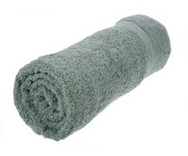 Nice quality towels (70x140cm) in gray