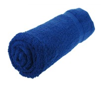 Beautiful towels (70x140cm) in the color cobalt blue