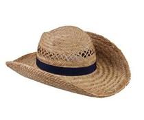 Νίκαια ψάθινα καπέλα ποιότητας που διατίθενται στο χρώμα σκούρο μπλε
