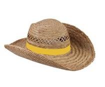 Νίκαια ψάθινα καπέλα ποιότητας διατίθεται σε κίτρινο