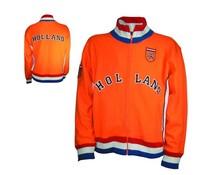 Oranje HOLLAND retro Jacket in volwassen maten en kindermaten