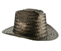 Genuine colored Straw hats (adult size uni)