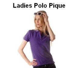 Goedkope 100% katoenen dames Poloshirts (polo pique) kopen en direct online bestellen?