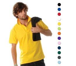 Cheap 100% cotton men's Polo (polo pique) buy and order online?