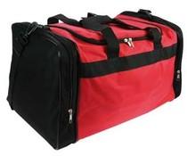 Αθλητικές τσάντες! Φτηνές κόκκινο με μαύρες σακούλες σπορ για πολυλειτουργικές σκοπούς!