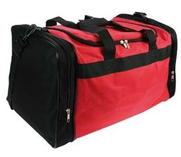 Cheap Sports Bags! Buy cheap red with black sports bags for multifunctional purposes?
