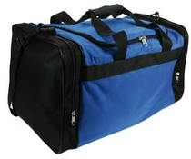 Sports Bags! Cheap blue with black sports bags for multifunctional purposes!