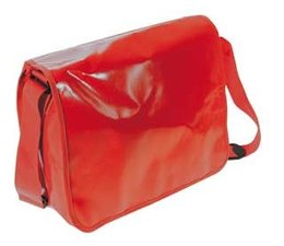 Promo Postmen Bag (leverbaar in 5 kleuren: rood, blauw, zwart, wit en groen)