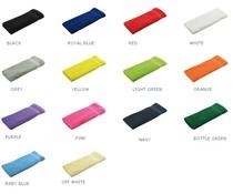 Gastendoekjes leverbaar in 14 verschillende kleuren