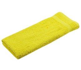 Badstof gastendoekjes in de kleur geel (afmeting 30 x 50 cm)