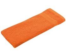 Gästetücher (30 x 50 cm) erhältlich in orange