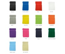 Washcloths available in 14 different colors