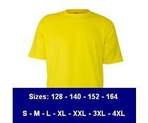 100% βαμβακερό T-shirts (διαθέσιμο σε 13 χρώματα)