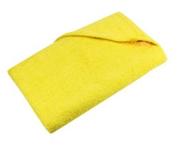 Cheap yellow terry Beach towels (size 100 x 180 cm) buy including embroidery or printing?