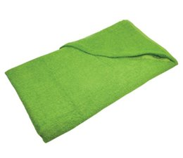 Cheap light green terry Beach towels (size 100 x 180 cm) buy incl embroidery?