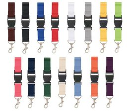 With us you can buy cheap lanyards in 15 different colors, and order directly online!