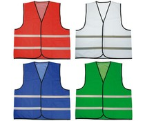 Safety Vests with reflective stripes (uni adult size)
