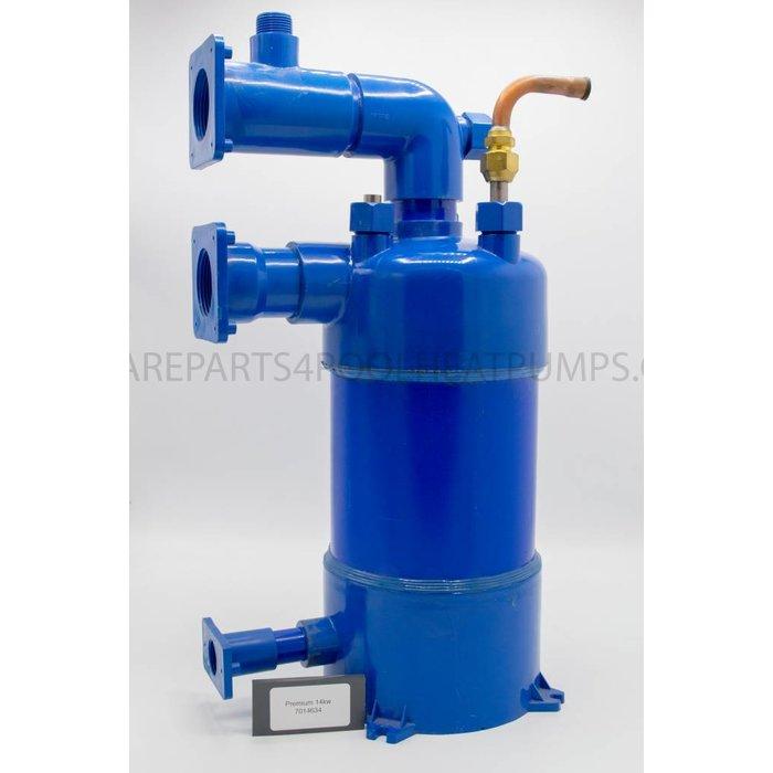 Premium 14kw Heat exchanger