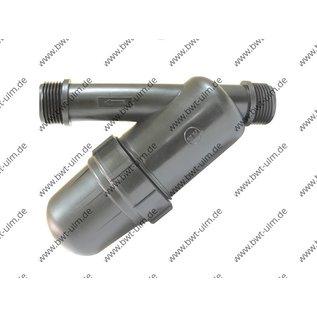 "PE Wasser-/Siebfilter SMALL 2x 3/4"" oder 2x1"" AG"