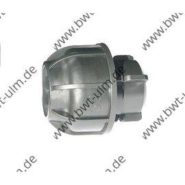 PP Klemmfitting, Endverschraubung für PE Rohr 20 - 63 mm