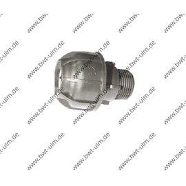 PP Klemmfitting, Verschraubung für PE Rohr 20 - 63 mm, Aussengewinde