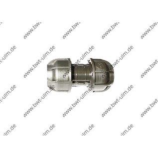 PP Klemmfitting, Kupplungen für PE Rohr 20 - 63 mm