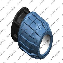 PP Klemmfitting, Klemmverbindung Endstück 16 - 63 mm, DVGW