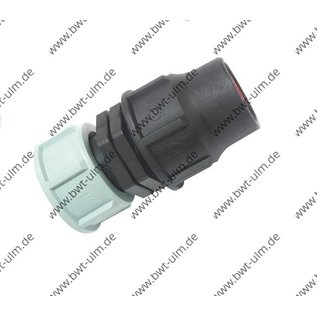 PP Fitting Lock, SWIVEL, für PE Rohr PN6, Tropfrohr 16 + 20 mm